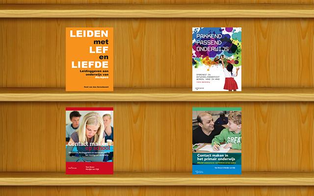 Inspirerende boeken voor leerkrachten, directeuren en bestuurders