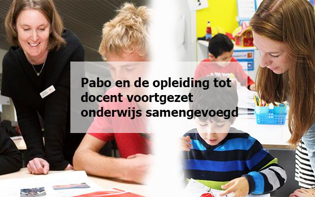 Nieuwe studie leidt leerkrachten op voor basisonderwijs en voortgezet onderwijs